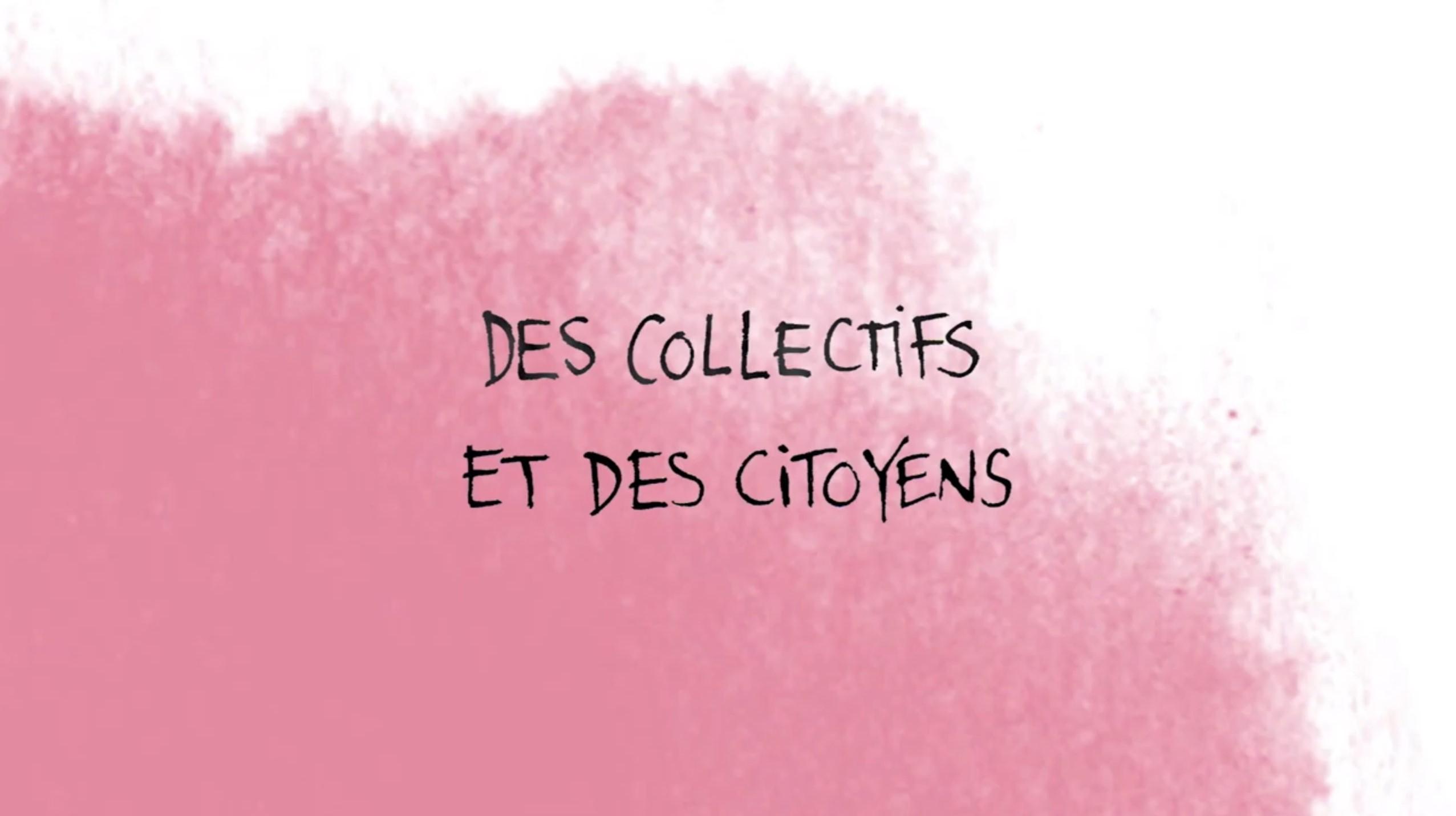 Des collectifs et des citoyens